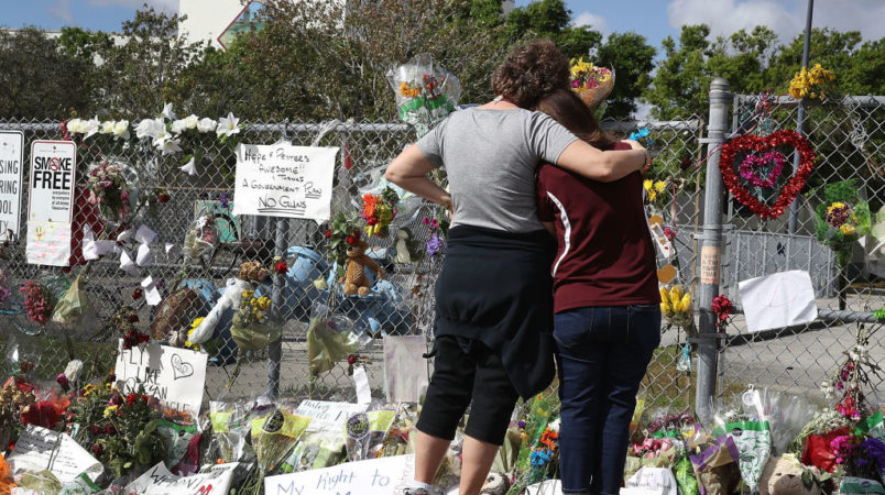 on February 23, 2018 in Parkland, Florida.