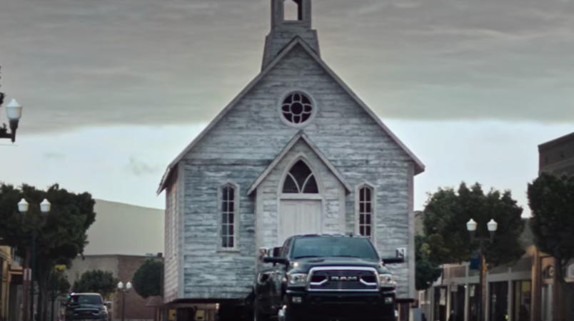 Ram's second Super Bowl commercial goes for greatness