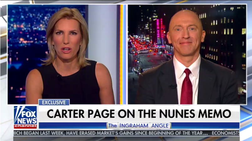 Carter Page told George Stephanopoulos he never met Donald Trump