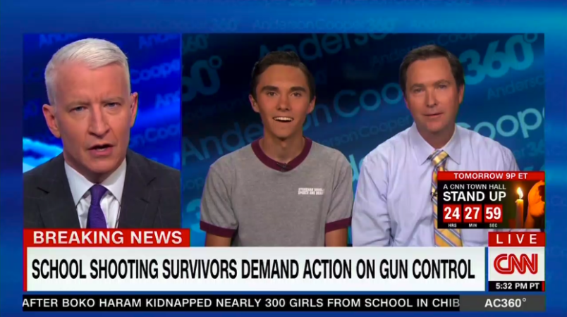 Florida shooting: Student David Hogg denies 'actor' claim
