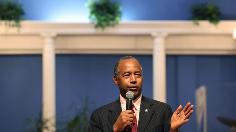 HUD employee demoted over Ben Carson office remodel request