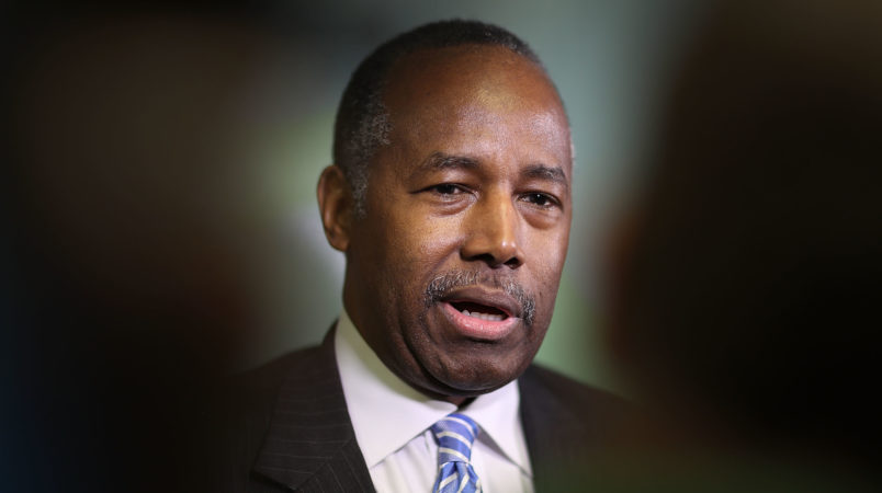 White House furious at embarrassing stories about HUD, Secretary Ben Carson