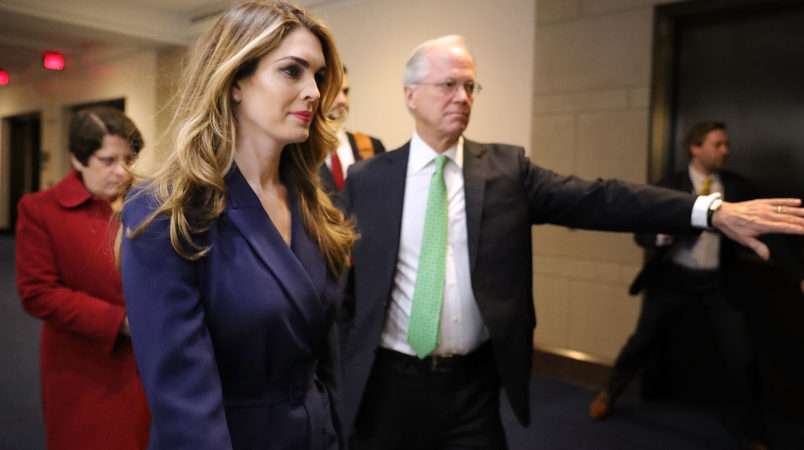 In blow to Trump, top aide Hope Hicks to leave White House