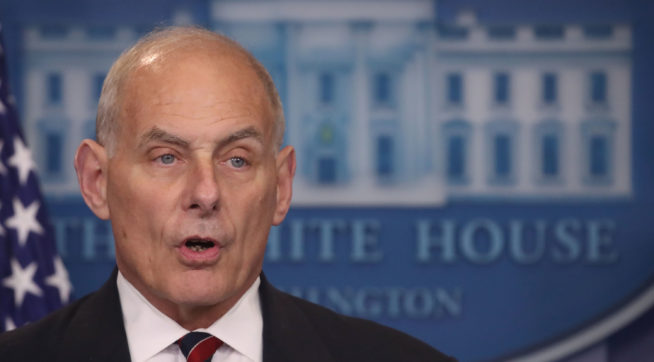 photo image Kelly Says White House's Handling Of Porter Abuse Allegations Was Just Fine