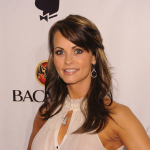 Karen McDougal at Sagamore Hotel on February 6, 2010 in Miami Beach, Florida.