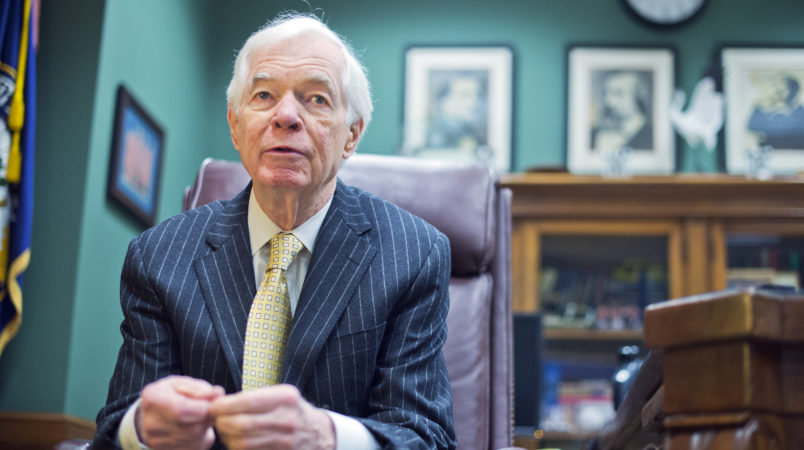 Republican Sen. Thad Cochran Of Mississippi Will Resign On April 1