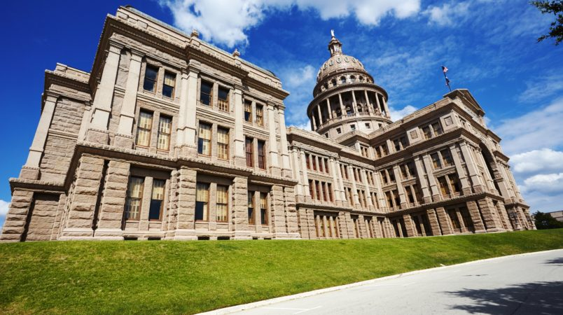 State Capitol Building in Austin.