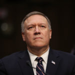U.S. President-elect Donald Trump's nominee for the director of the CIA, Rep.ÊMike Pompeo(R-KS) testifies during his confirmation hearing before the Senate (Select) Intelligence Committee in the Hart Senate Office Building on January 12, 2017 in Washington, DC. Mr. Pompeo is a former Army officer who graduated first in his class from West Point.