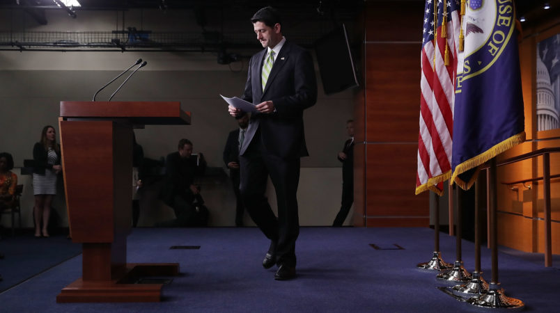 Ryan: Trump administration is satisfied with wall funding in omnibus bill