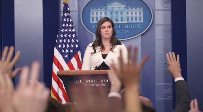 WH: Greitens Allegations Are 'Very Concerning' And Are Taken 'Seriously'