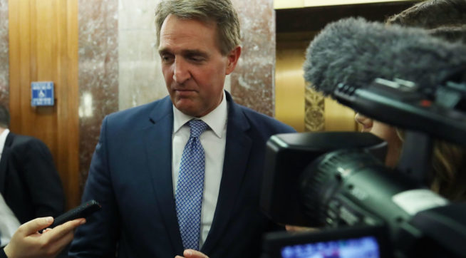 Flake: Withdrawal From Iran Deal Tells World 'We're Not A Reliable Partner'