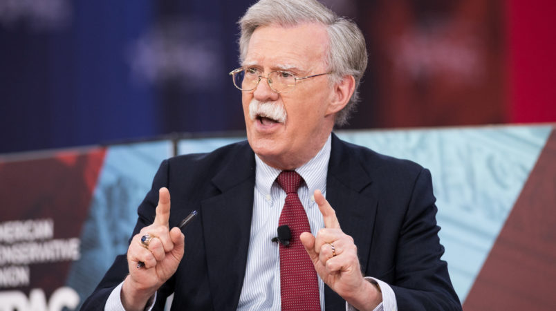Trump Security Pick John Bolton Welcomed by Israelis, Reviled by Palestinians