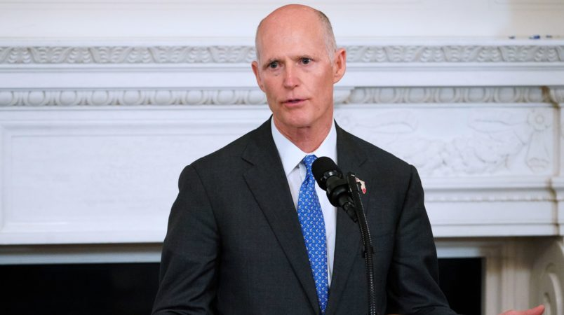 Governor Rick Scott will meet with families from Parkland on Friday