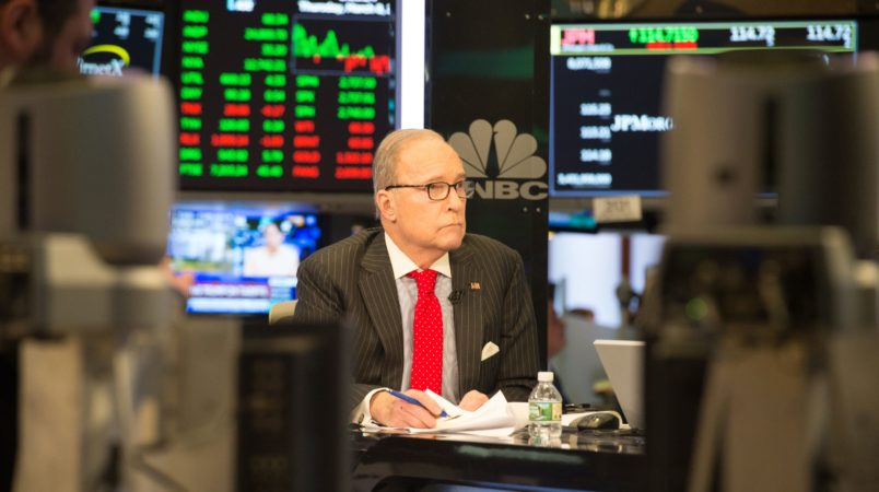 White House Confirms Kudlow Appointed National Economic Council Director to Replace Cohn