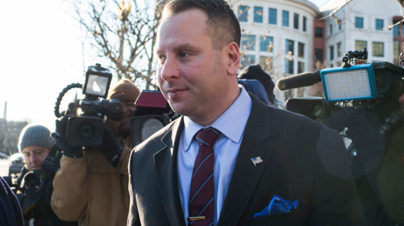 Sam Nunberg appears before the special counsel
