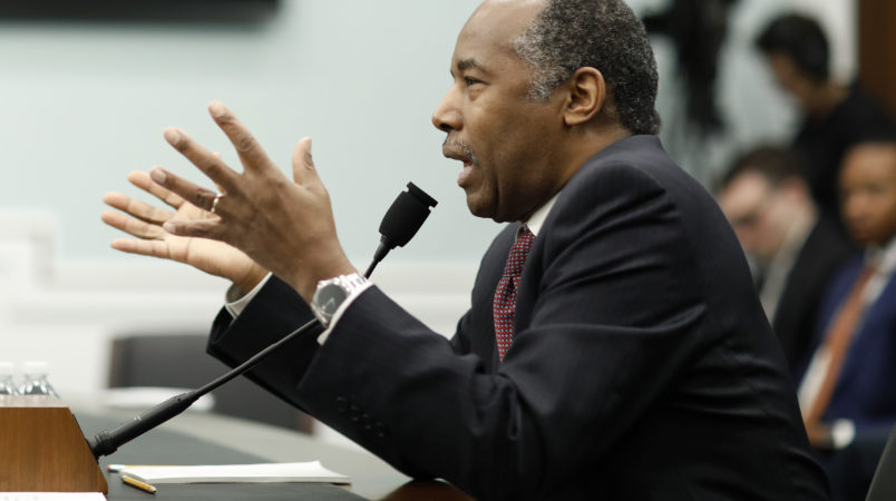 Ben Carson Defends Purchase of $31000 Dining Set at Congressional Hearing
