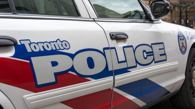 TORONTO, ONTARIO, CANADA - 2015/05/13: Toronto Police Car: Toronto Police Service is the largest municipal police service in Canada and third largest police force in Canada. (Photo by Roberto Machado Noa/LightRocket via Getty Images)