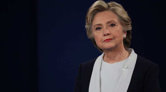Clinton Reacts To News Comey Used Personal Email: 'But My Emails'