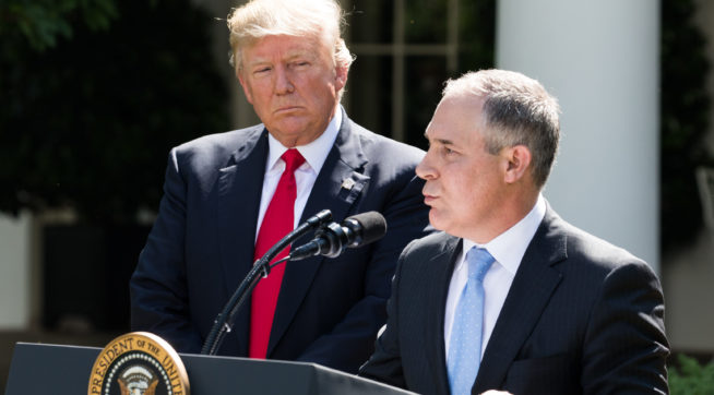 White House Telling Republicans To Tone Down Pruitt Defenses