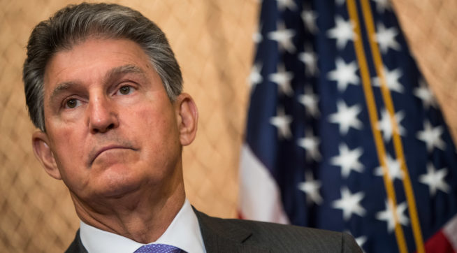 Manchin Breaks With Dems, Says He'll Vote For Pompeo As Secretary Of State