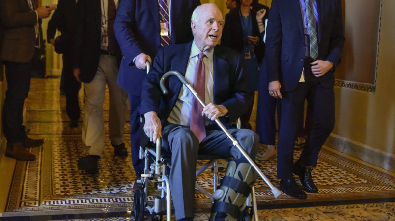 John McCain undergoes intestinal surgery at Mayo Clinic