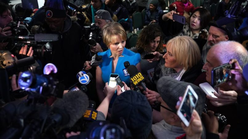 Look! Cynthia Nixon Aims To Improve Racial Justice By Legalizing Marijuana
