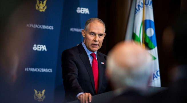 Former EPA Official Confirms Pruitt Scandals New And Old, Lawmakers Say