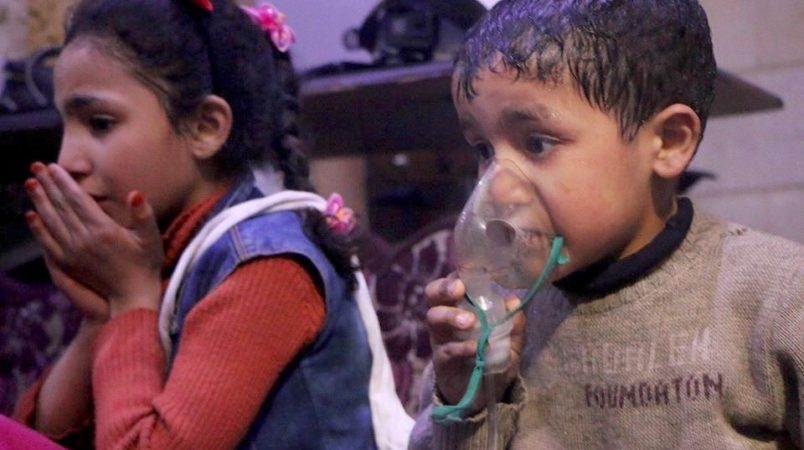 Russia Fires Back At Trump, Calls Syrian Gas Attack Fake News