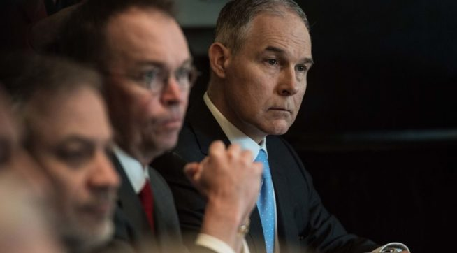 Report: EPA Rejected White House's Offer Of Prep Help Ahead Of Hearings