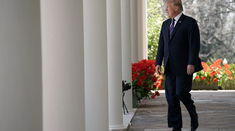 on April 12, 2018 in Washington, DC.