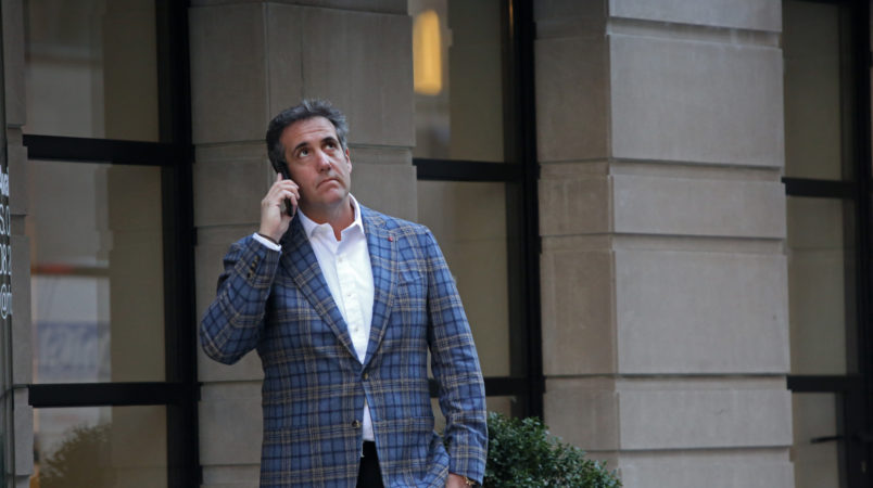 Michael Cohen's authorized workforce racing to assessment supplies seized in Federal Bureau of Investigation raids