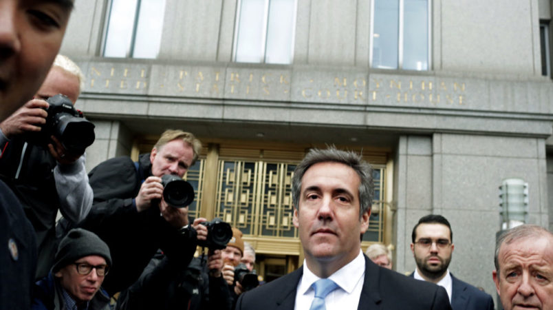 Michael Cohen Drops Dossier-Related Lawsuits Against BuzzFeed, Fusion GPS