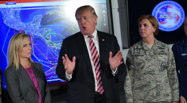 Trump: Human Trafficking 'Is Worse Than It's Ever Been In The History Of The World'
