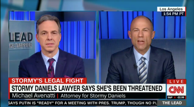 Tapper Calls Stormy Daniels' Lawyer 'Nostradamus Of The Legal Scene'