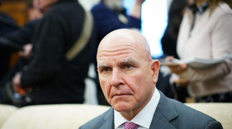 NSA McMaster Blasts Putin to Baltic Leaders