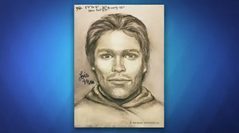 Stormy Daniels shows sketch of threatening man