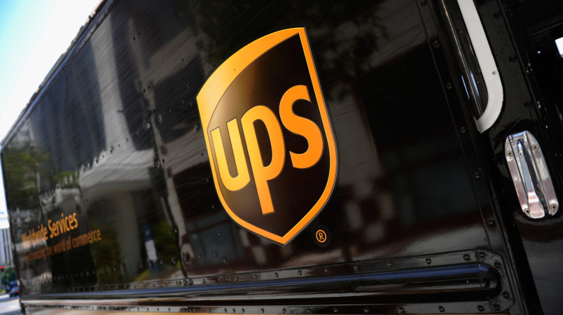 on July 22, 2010 in Glendale, California. UPS said its second quarter profit nearly doubled posting a net profit of $845 million, or 84 cents a share, compared to $445 million or 44 cents a year ago.