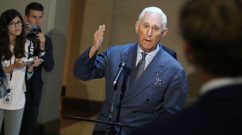 Mueller Has Subpoenaed Trump Adviser Roger Stone's Social Media Consultant