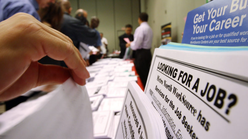 Unemployment down to 3.8 percent