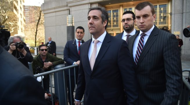 Cohen: Avenatti Shouldn't Be At Court Hearing Due To 'Inaccurate Statements'