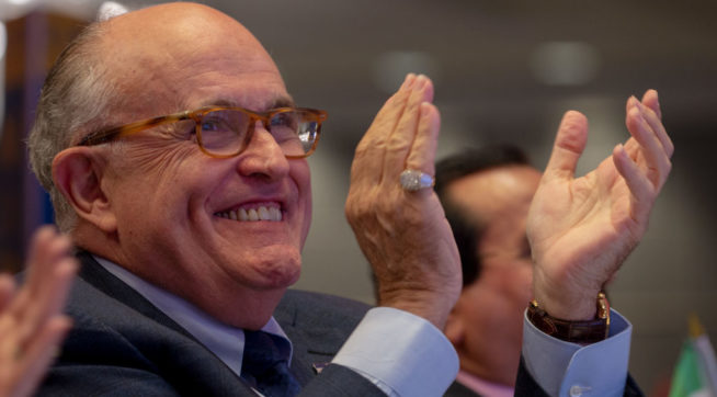Giuliani On His Interviews: Feels 'Good' That Everything Is 'Straightened Out'
