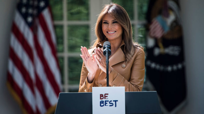 Melania to Reveal Agenda Goals on Children's Issues