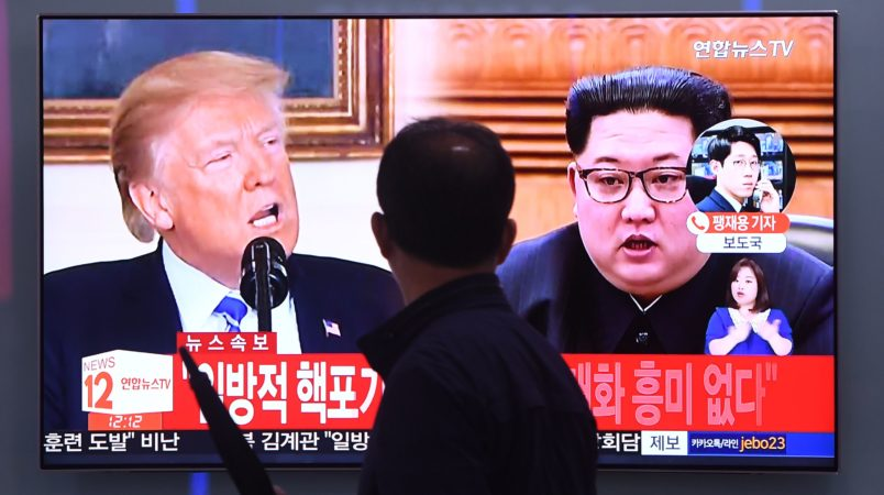 Moon, Trump vow continued effort to ensure successful US-NK summit