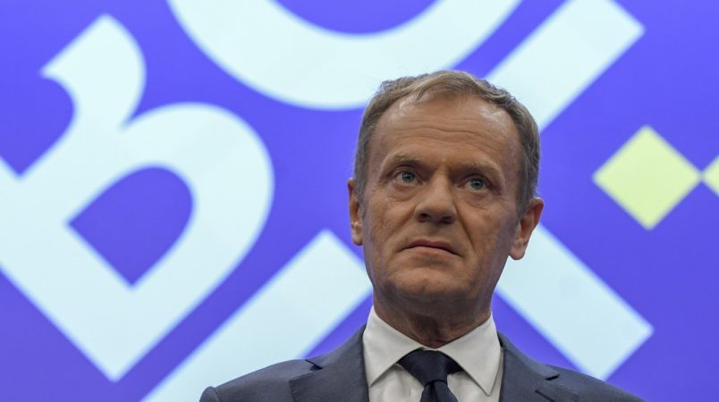 EU's Donald Tusk takes aim at Donald Trump over Iran, trade tariffs