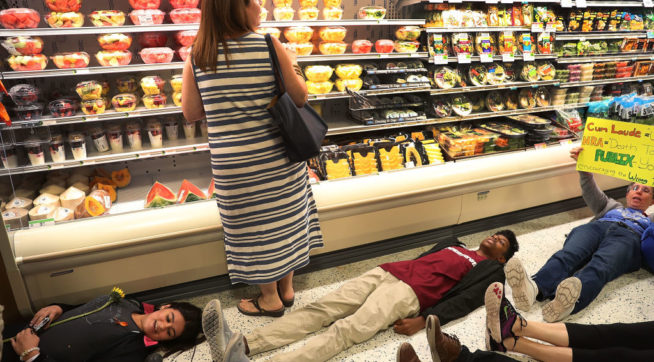Facing Student-Led, Anti-NRA 'Die-In,' Publix Suspends Political Donations