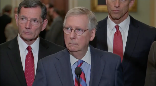 McConnell Calls For White House Aide To Publicly Apologize For McCain Joke