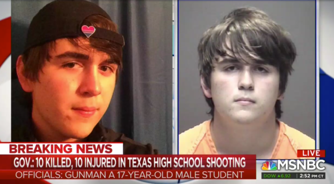 Brian Williams: Suspected TX Gunman's Eyes 'Have Gone Dead' In Mugshot