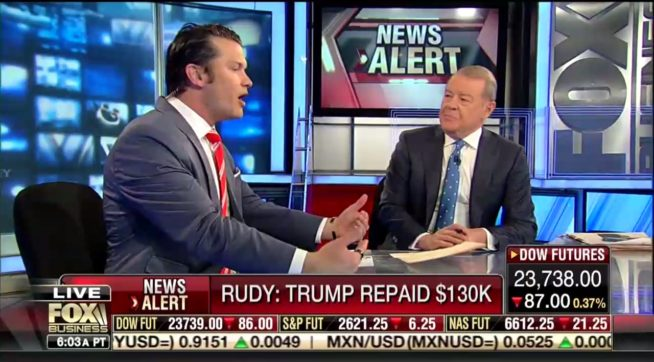 Fox Host Argues Stormy Daniels Payment Was Legal, Using Some Shoddy Logic