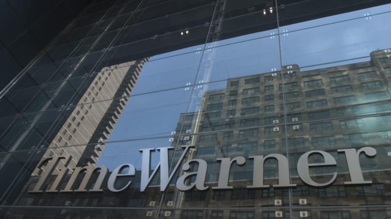 """Time Warner's new headquarters, an 80-story structure in Manhattan's Columbus Circle opens tonight.  It will be headquarters to Time Warner as well as home to """"Jazz at Lincoln Center,"""" a Mandarin hotel, a Whole Foods supermarket."""