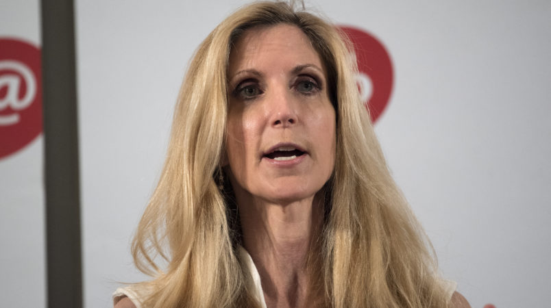 Coulter Doubles Down: Migrant Kids 'Need To Improve Their Scripts'